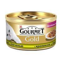 Gourmet Gold (с кроликом и печенью), 85гр