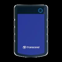 Внешний жесткий диск Transcend StoreJet 25H3B 4TB, Grey/Blue