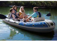 Надувная лодка Intex Excursion 4, 315Х165Х43