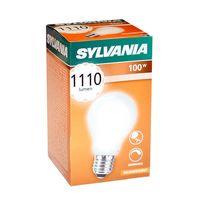 Лампа накаливания Sylvania 100W E27 матовая ударопрочная
