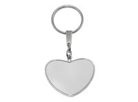 Металлический брелок Heart