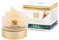 Cremă hidratantă și nutritivă de morcov cu UV Filtru Health & Beauty 50 ml