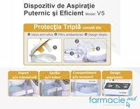 Dispozitiv de aspiratie Rossmax puternic si eficient V5