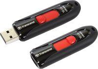 Flash Drive Transcend JetFlash 590 Black 16Gb