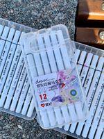 Sketch Markers cu două fețe subțiri 12 culori Aihao