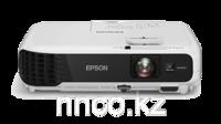 """XGA LCD Projector Epson EB-X04, 2800Lum,  15000:1 Технология: LCD: 3 х 0.55"""" P-Si TFT  Разрешение: XGA (1024х768)  Яркость: 2800 ANSI lm  Контрастность: 15000:1  Зум 1,2х (оптический)  Передача изображения по беспроводной сети Wi-fi (опционально)  Автоматическая коррекция вертикальных трапецеидальных искажений  Ручная коррекция горизонтальных трапецеидальных искажений  Функция Quick Corner  Возможность просмотра изображений и видео напрямую с USB носителей  Функция копирования настроек и обновления прошивки через USB  USB Display 3-в-1 – передача изображения, звука и сигналов управления по USB кабелю  Функция Split Screen  Прямое подключение к документ-камере Epson ELPDC06  Встроенный динамик 1 Вт  Фронтальный вывод тепла  Моментальное выключение  Вес: 2,4 кг"""
