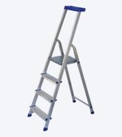 купить Универсальная лестница из алюминия с полкой JHR 405, 1205 мм в Кишинёве