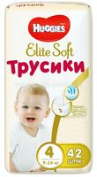 Huggies Трусики Elite Soft 4 (9-14 кг.)42 шт.