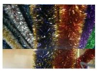 купить Мишура елочная 2mX8.5cm двухцветная в Кишинёве