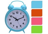 "Часы напольные ""Будильник"" разных цветов D45cm"