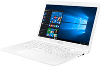 """NB ASUS 14.0"""" E402NA White (Pentium N4200 4Gb 1Tb) 14.0"""" HD (1366x768) Glare, Intel Pentium N4200 (4x Core, 1.1GHz - 2.5GHz, 2Mb), 4Gb (OnBoard) PC3-10600, 1Tb 5400rpm, Intel HD Graphics, HDMI, 100Mbit Ethernet, 802.11n, Bluetooth, 1x USB 3.1 Type C, 1x USB 3.0, 1x USB 2.0, Card Reader, Webcam, Endless OS, 2-cell 32 WHrs Li-Ion Battery, 1.65kg, White"""