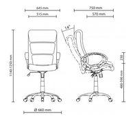 Офисное кресло Новый стиль Delta Chrome Eco-70