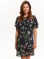 Платье TOP SECRET Черный с принтом ssu2021