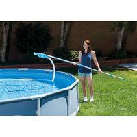 Комплект для чистки бассейнов Deluxe Pool Maintenance Kit INTEX (сачок, щетка-вакуумный пылесос, фильтрующая колба)