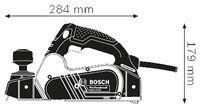 Рубанок Bosch GHO 16-82 (06015A4000)