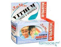 Vitrum® Junior comp. masticab. N30 (7-14 ani) (TVA 20%)