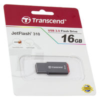 Flash Drive Transcend JetFlash 310 Black 16Gb