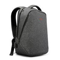 """Городской рюкзак Tigernu T- B3164U для ноутбука 14.3"""", водонепроницаемый, с USB портом, темно-серый"""