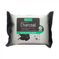 Beauty Formulas Charcoal Detox Facical Wipes - Очищающие салфетки для лица с активированным углем