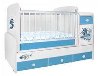 Bambini Comfort Plus Cartoon Blue Pirate