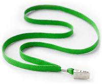 Luromax Шнурок с клипсой LUROMAX для бейджа зеленый