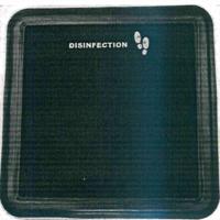 Коврик для дезинфекции обуви (резина) 60x60