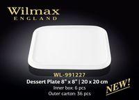 Тарелка WILMAX WL-991227 (десертная 20 х 20 см)