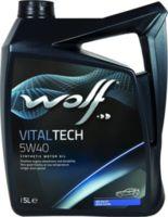 Масло моторное WOLF, 5W40 VITALTECH 5L