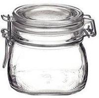Аксессуар для кухни Bormioli Rocco 24956 Банка для хранения/консервации Fido 0,5 л, зажимная крышка