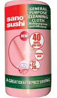 Sano Roll Pink Универсальная тряпа в рулоне (40 шт) 427848