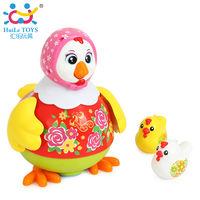 Huile Toys Танцующая курица с музыкой и светом