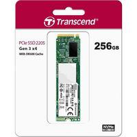 cumpără M.2 NVMe SSD 256GB Transcend 220S, Interface: PCIe3.0 x4 / NVMe1.3, M2 Type 2280 form factor, Sequential Reads 3500 MB/s, Sequential Writes 2800 MB/s, 3D NAND TLC în Chișinău