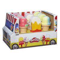 """Masa pentru modelarea """"Înghețată"""" Play-Doh, cod 43030"""