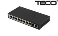 POE коммутатор TECO S208P-FE2-AI (96W) 8CH +2 /POE Switch