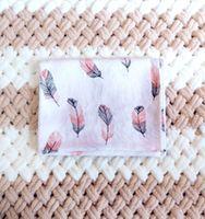 Муслиновая пеленка Pampy 100*80 см Feathers