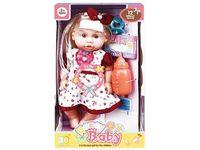 Кукла со звуком и аксессуарами (ягоды), 32X18.5X11cm