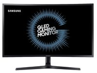 "32.0"" SAMSUNG ""C32HG70QQI"", Black (Curved-VA QLED 2560x1440, GAMING 144Hz, 1ms, HDR, 350cd, DP+HDMI)"