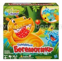 """Hasbro 98936 Настольная игра """"Голодные бегемотики"""""""