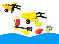 Набор игрушек для песка в тележке, 6 ед, 34X14cm