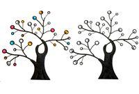 купить Дерево декоративное с камнями 30X32cm, металл в Кишинёве