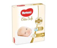 Подгузники Huggies Elite Soft 2 (3-6 кг) 82 шт