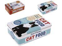 Cutie pentru pastrarea hranei pentru animale 25X18X12cm, metal