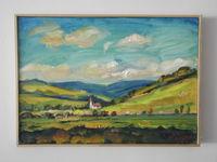 Пейзаж (Подчиква, Словакия), 30x40, холст, масло