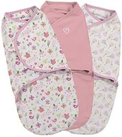 Пелёнка-кокон Summer Infant SwaddleMe Secret Garden (0-3 мес) 3 шт