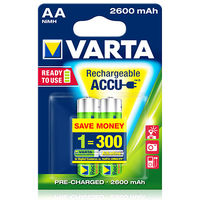 купить Аккумулятор Varta Mignon Accu 2600 mAh AA (2шт) в Кишинёве