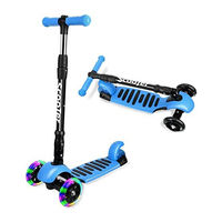 YKS: Foldable scooter 6+, Blue