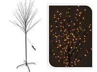 cumpără Copac decorativ, fluoriscent, cu timer 150cm, 200 miniLED, alb-cald în Chișinău
