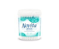 Ватные палочки Novita, 100 шт. (коробка)
