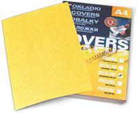 ARGO Картон ARGO Delta A4, 250 г/м2, 100 листов, желтый