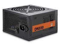 Блок питания ATX 550W Deepcool DN550, 80PLUS, Active PFC, бесшумный вентилятор 120 мм, розничная торговля